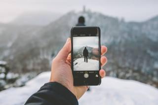 photo, iPhone, winter, nature