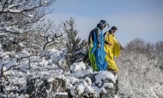 zima, hory, extreme, sport
