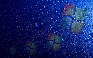 windows, drops
