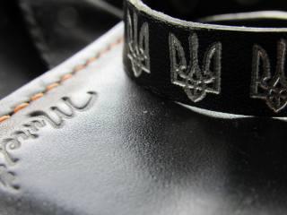 Герб Украины, кошелёк, černá