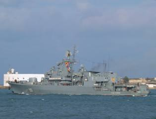 флагман, гетьман сагайдачный, фрегат, Севастополь, ВМС