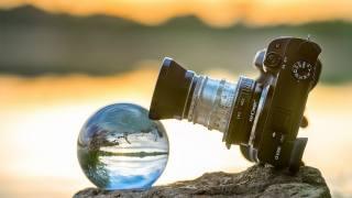 the camera, photo, nature