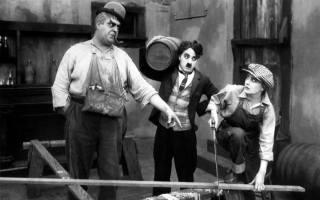 монохромный, film stills, Чарли Чаплин, чб