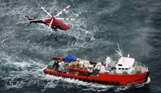 корабль, спасатель, работа