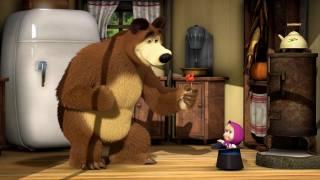 маша, медведь, маша и медведь, холодильник, цилиндр, мультик, леденец