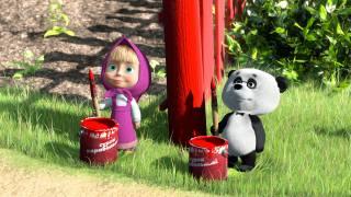 маша, маша и медведь, анимация, мультик