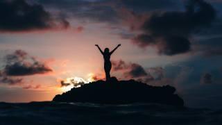 holka, moře, příroda