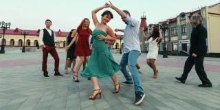 танець, свинг
