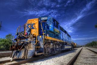 техніка, локомотив, склад, залізничний