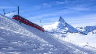 Швейцарія, сніг, зима