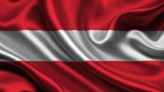 Австрия, Флаг, 3d, Австрия, Флаг
