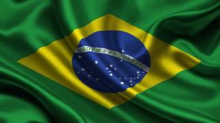 Бразилия, Флаг, 3d, Бразилия, Флаг
