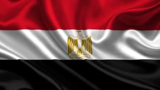 Egypt, Vlajka, 3d, egypt, Vlajka