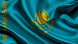 Kazakhstan, Flag, 3d, kazakhstan, Flag
