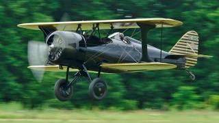 самолет, гоночный биплан, 1929