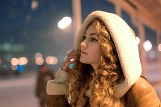 девушка, портрет, улица, фотограф, Саша Елян