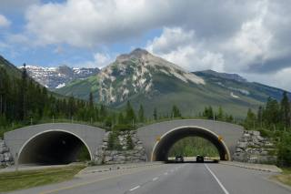 road, the tunnel, Auto, mountains