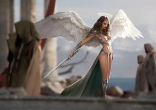 angel, fantasy, character