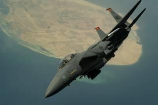 самолет, Истребитель, Ф-15, полёт