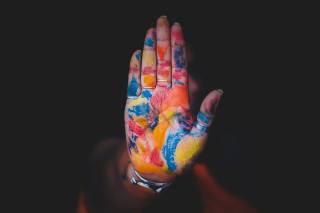hand, Items, paint, Aashish R Gautam