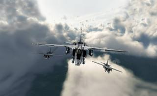 the sky, art, airplanes, Fighter