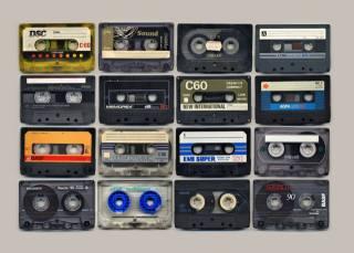 музыка, аудио, кассета