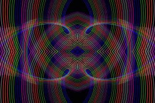 лінії, кольорові