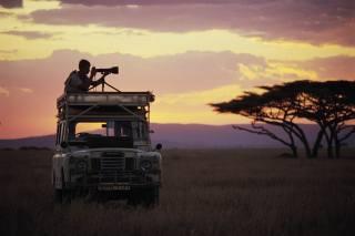фотограф, Африка, фотоапарат, Ленд Ровер