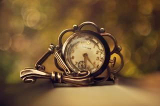 hodinky, makro fotografie, retro