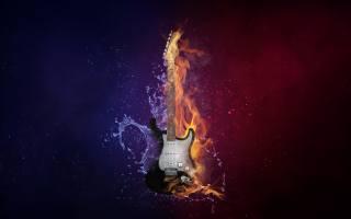 гитара, СТРУНЫ, ГРИФ, музыка