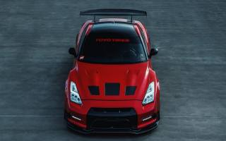 nissan, gt-r, r35, Red