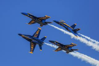 airshow, F-18, Los Angeles, aviation, the sky