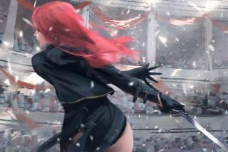 Anime, apt, The sword