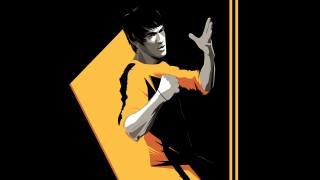 Bruce Lee, звезда кунг-фу, art