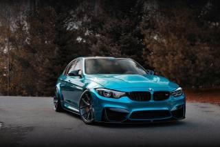 BMW, F80, car