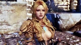 game, girls, Skyrim