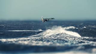 море, ветер, серфинг, полёт