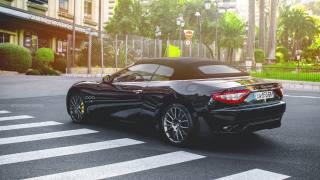 maserati, černá, supercar