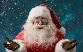 санта клаус, Новый год, праздники