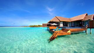 v tropech, dům a pohodlí
