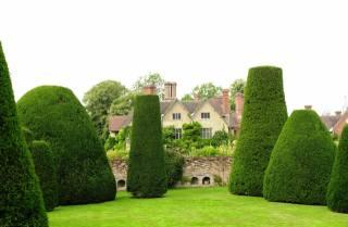 the mansion, Park, summer, England