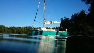 summer, the lake, boat