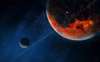 planet, Космос искусство, Digitalart