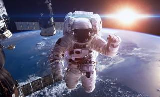 astronaut, astronaut, space, planet, earth