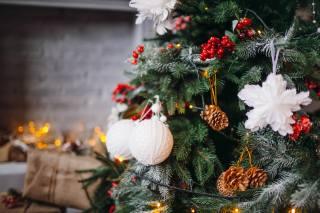 svátek, Nový rok, Vánoce, vánoční strom, dekorace, Hračky, dárky