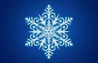 snowflake, background, minimalism