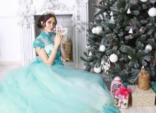 holka, oblečení, vánoční strom, Nový rok, svátek