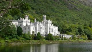 монастир, озеро, Ірландія, Kylemore
