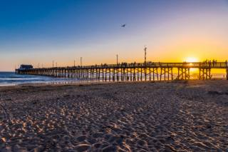 coast, Newport Beach, the beach, nature, the beach, shore