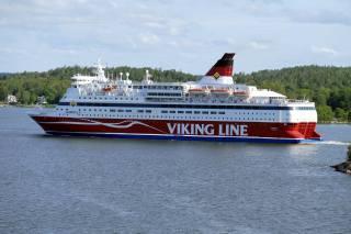 Loď, пассажирское, stockholm, léto, dovolená